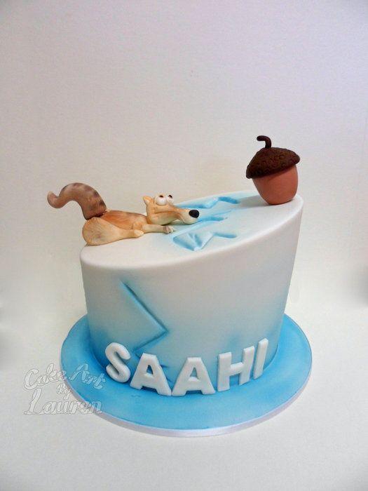 Ice Age Cake Ice Age Cake Birthday Cake Ice Age