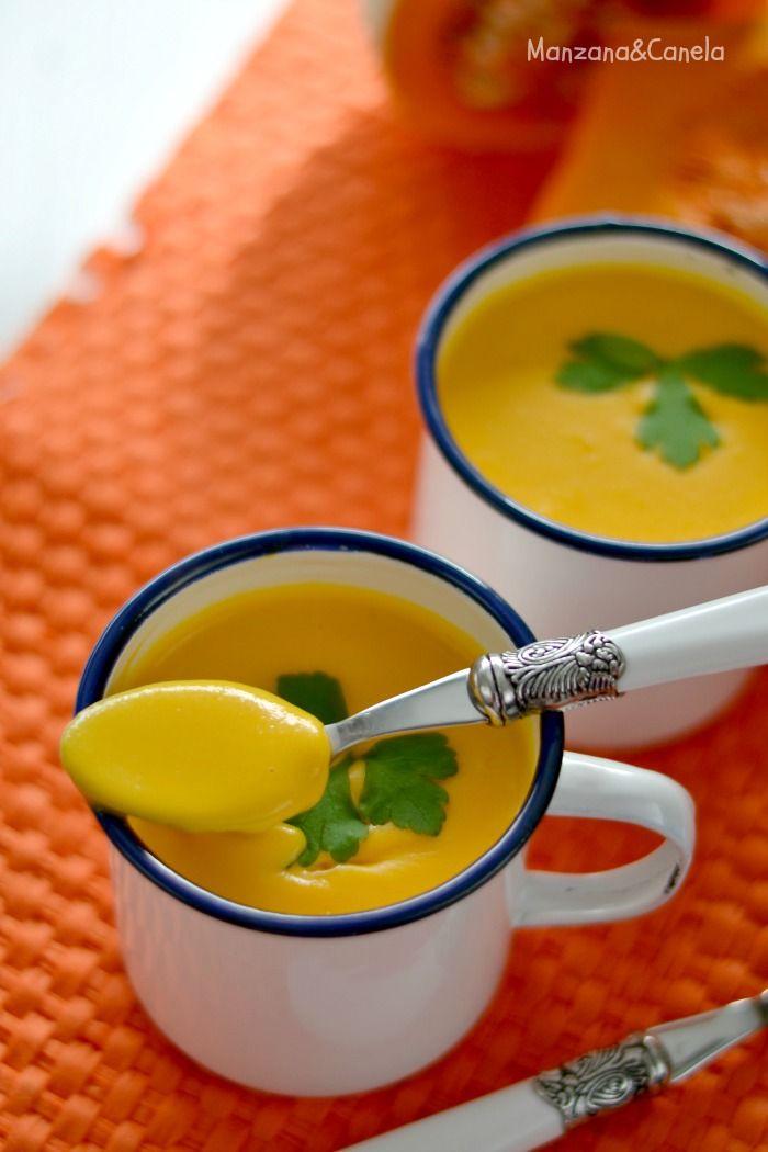 Cocinar Crema De Calabaza | Crema De Calabaza Y Tomate Recetas Bebes Pinterest Crema De