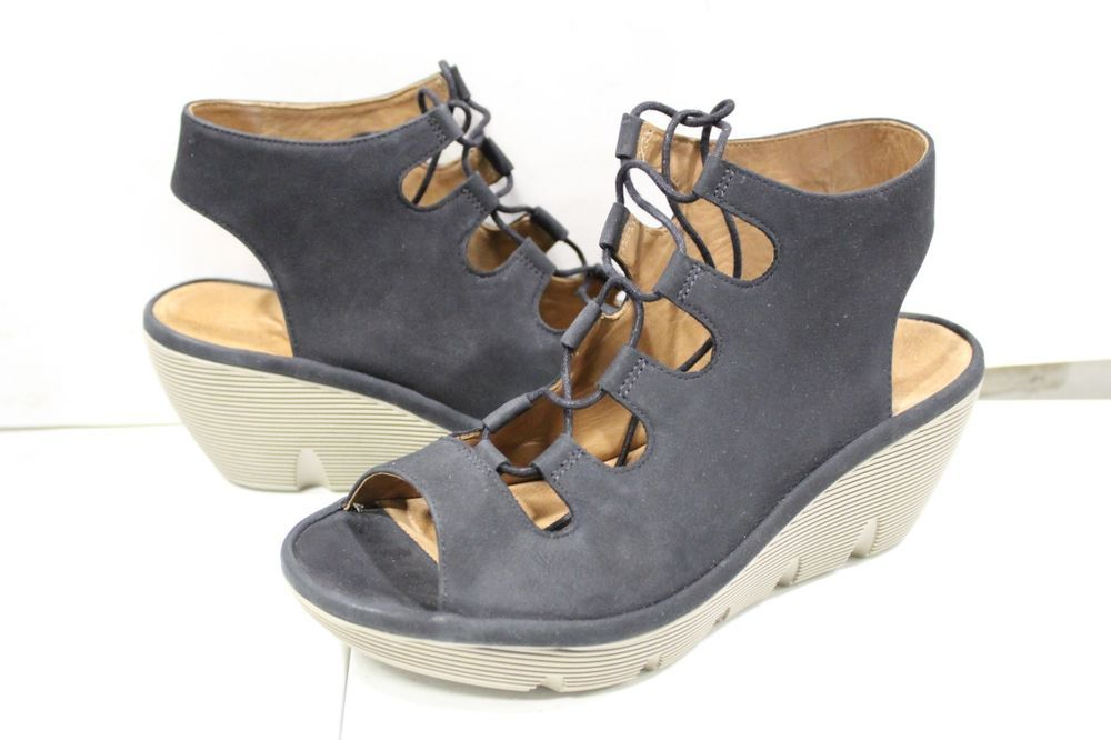 c4672096479 S-312 Women s Clarks Clarene Grace Slingback Wedges size 8.5 M  fashion   clothing  shoes  accessories  womensshoes  heels (ebay link)