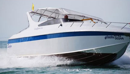 Speed Boat for Rapid Sea Transportation and Private Trip, I need.