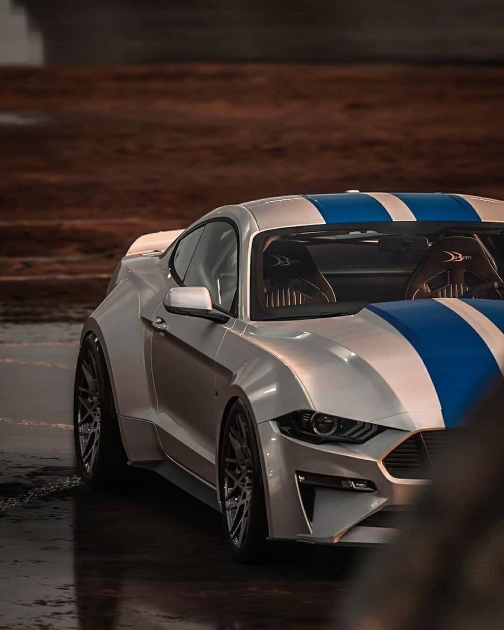Widebody Mustang. #Forza 👍-👎 Photo By Kingty918