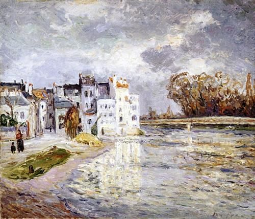 he Marne At Lagny - Maxime Maufra