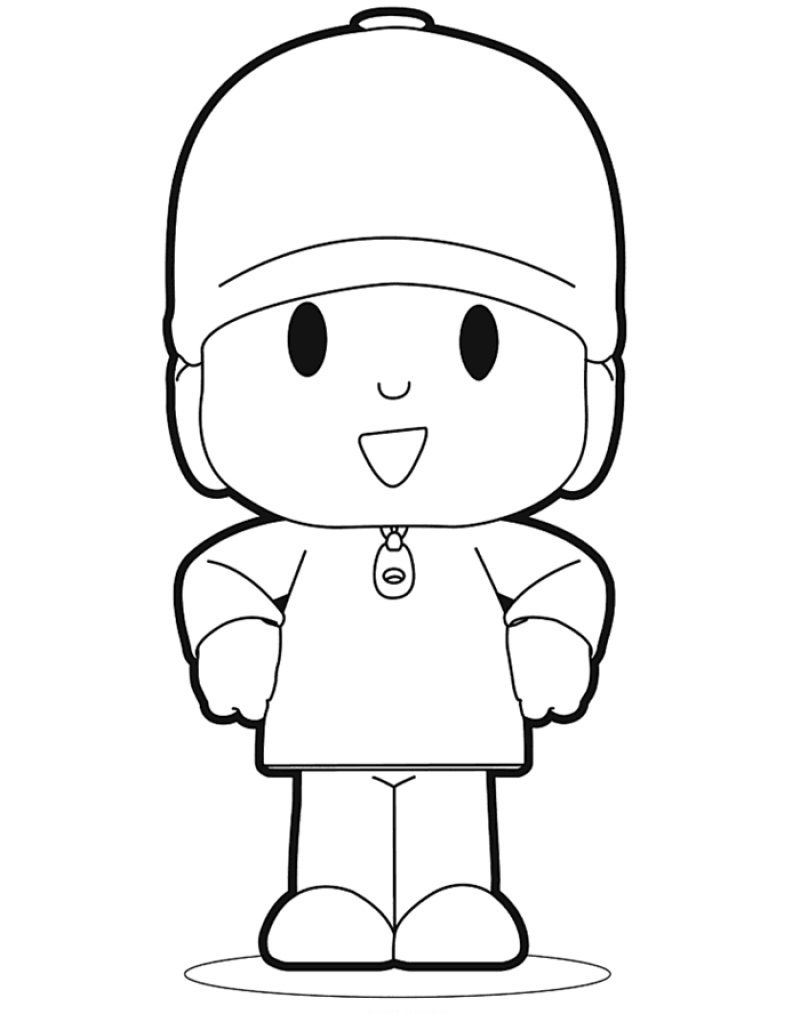 48 pocoyo printable coloring pages for kids find on coloring book thousands of coloring pages - Pocoyo Friends Coloring Pages