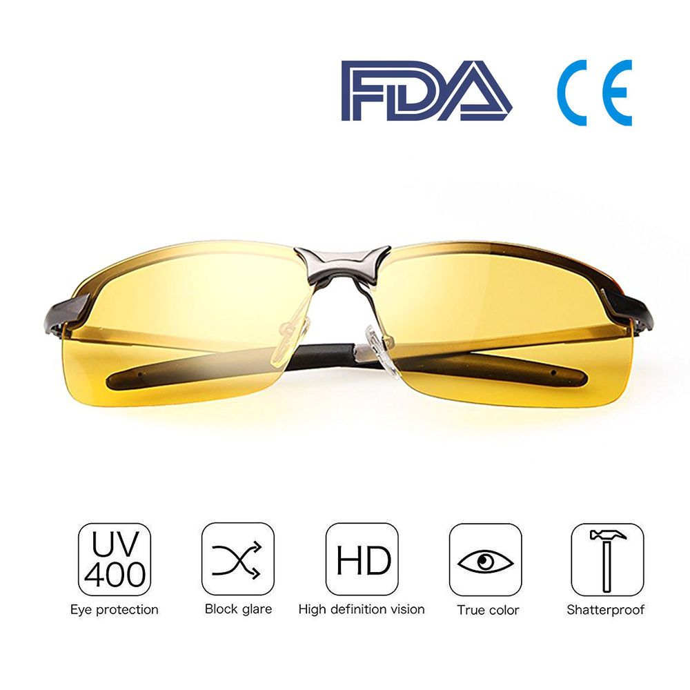 ac387d38d4 Night Driving Polarized Glasses - HD Vision