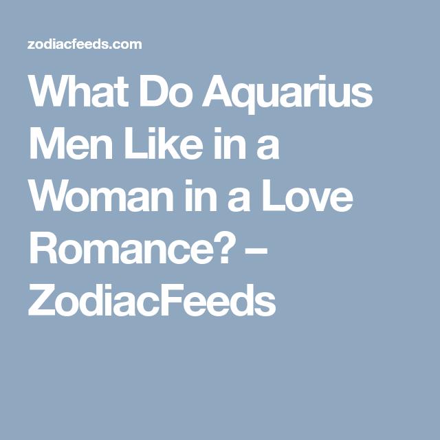 Aquarius and romance