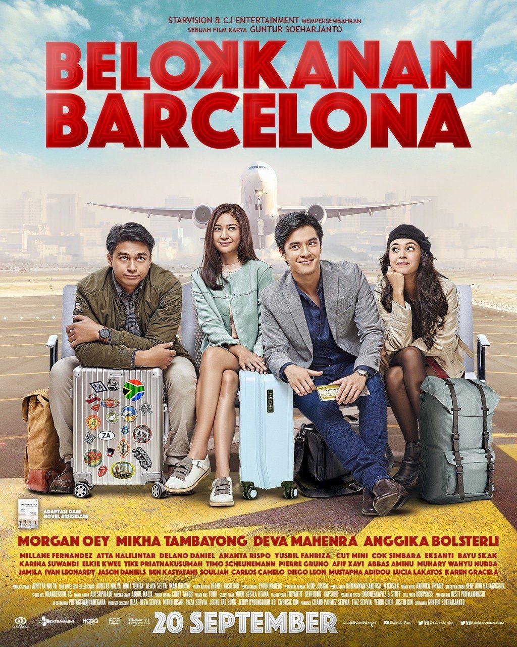 Belok Kanan Barcelona Poster Film Indonesia Movies Online
