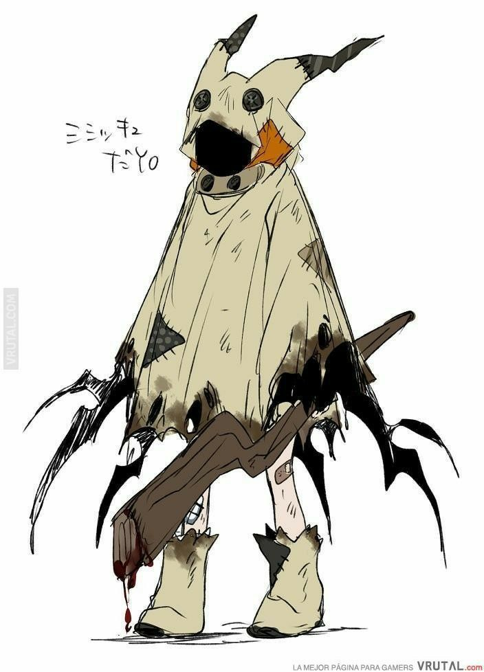 Photo of Pokemon sword and shield male character x mimikyu male reader