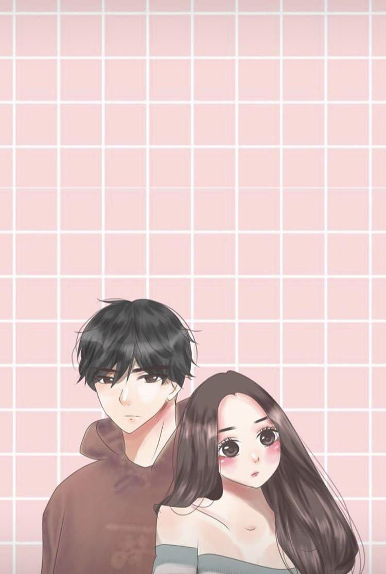Girl Boy Tumblr Illustration Couple Cute Anime Drawing Ilustrasi Karakter Ilustrasi Orang Ilustrasi