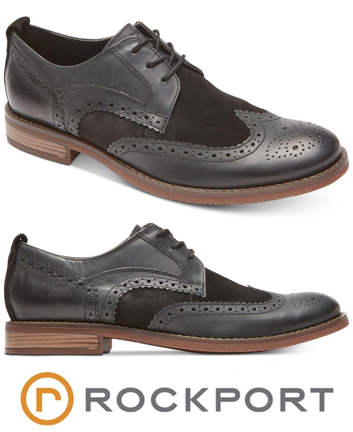Wingtip oxford, Dress shoes men