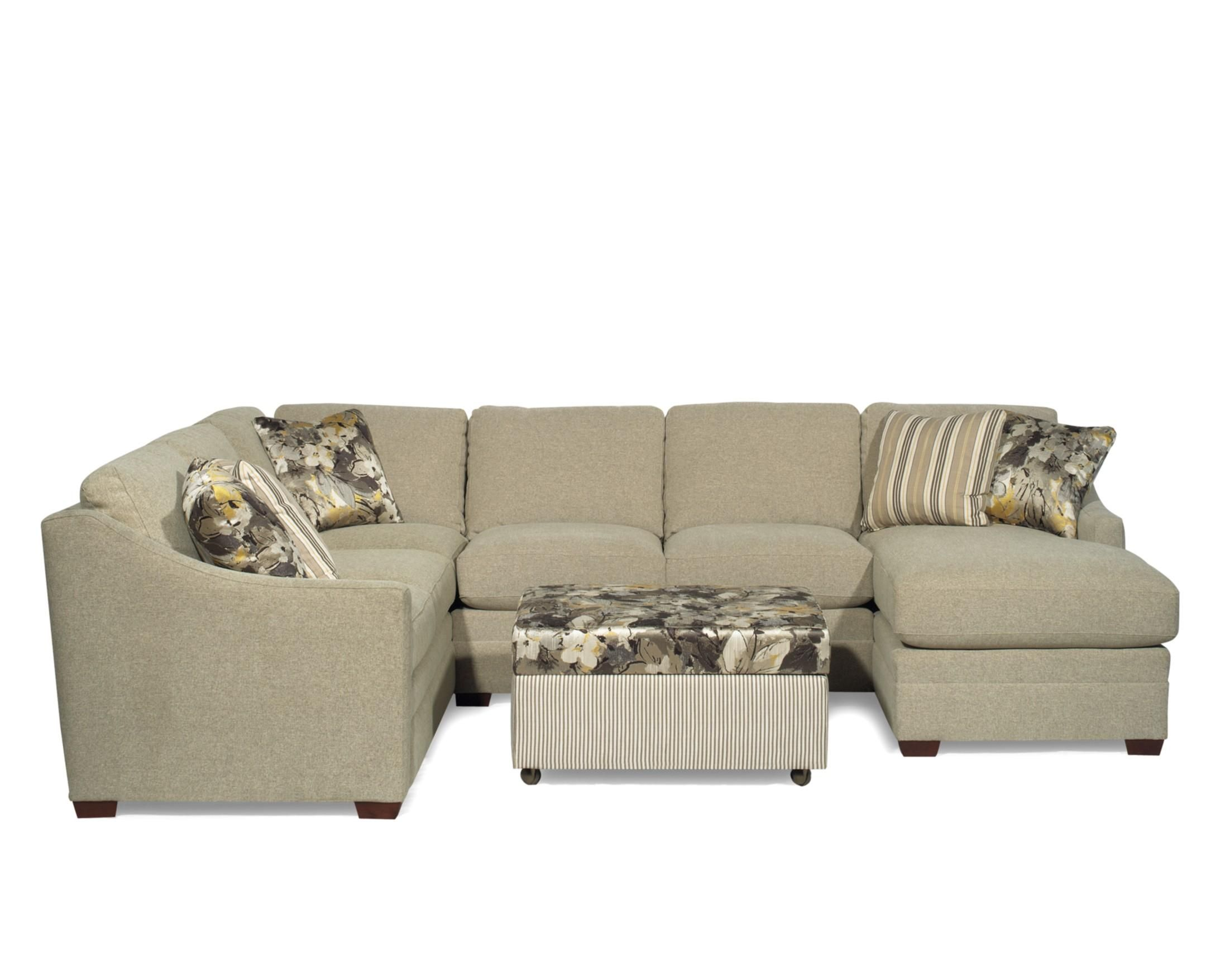 Custom collection customizable sectional with laf sofa w return by craftmaster at miskelly furniture