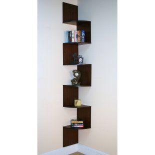 Great Book Shelves Corner Bookshelves Corner Wall Shelves