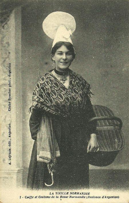 costume-normandie Basse-Normandie