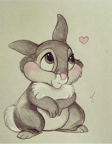 Conejito Dibujos Bonitos Dibujos Kawaii Dibujos De Disney A Lapiz