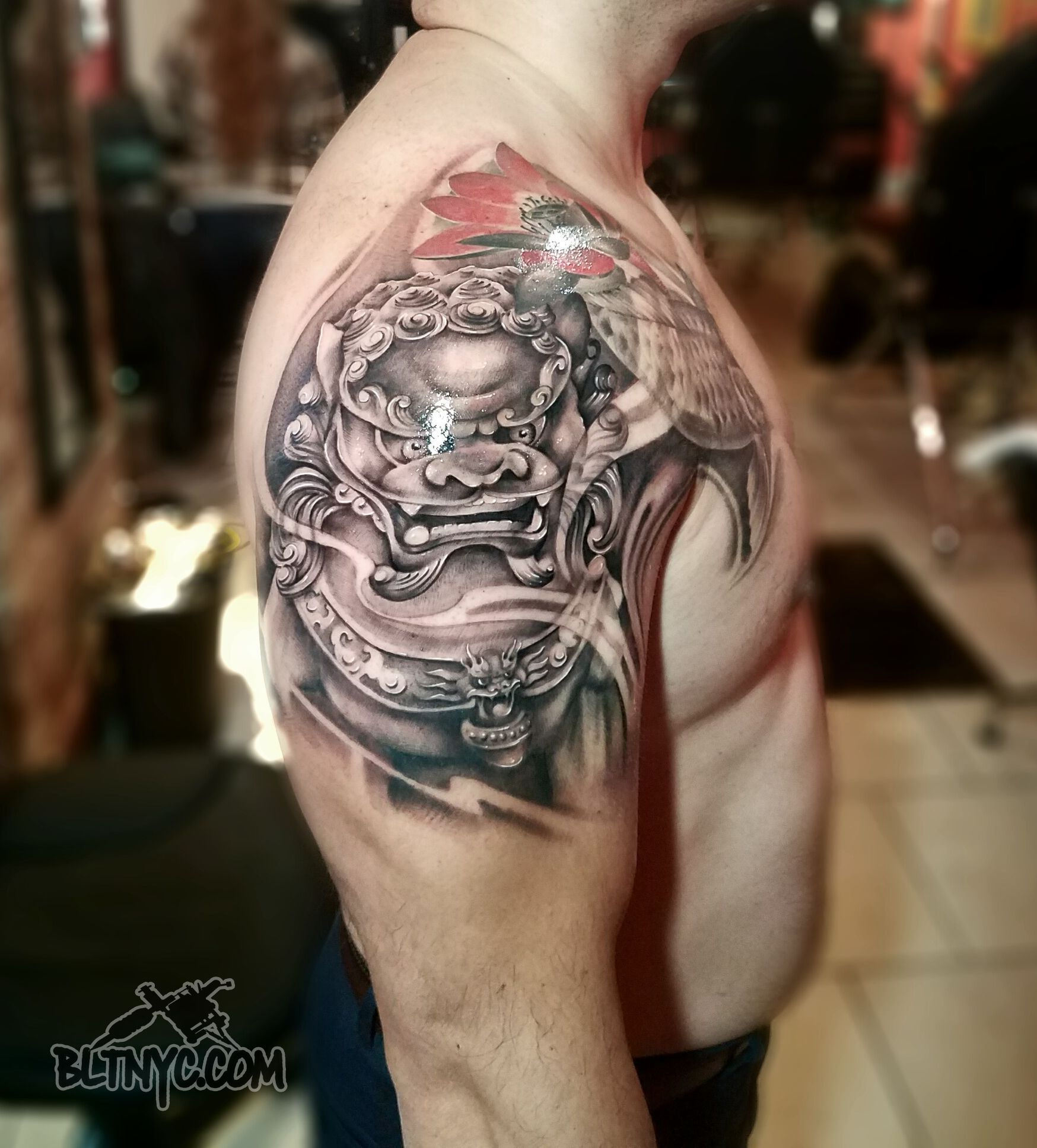 Tattoo By Carlos Fudog Armtattoo Tatttoo Body Language Tattoo
