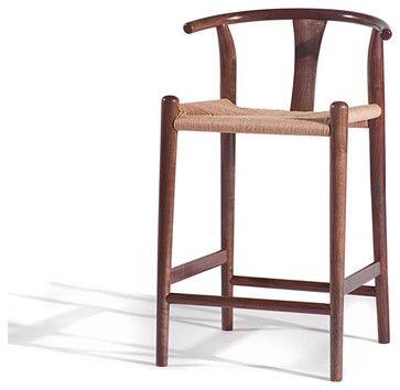 Xian Counter Stool Medium Walnut Asian Bar Stools And Counter
