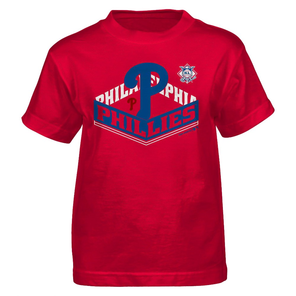 Philadelphia Phillies Youth Boys Core T-Shirt 7, Boy's, Multi-Colored