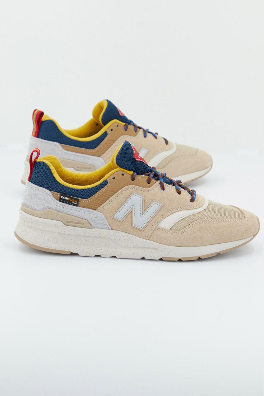 NEW BALANCE CM997 HFA MARRON CLARO Zacaris zapatos online ...