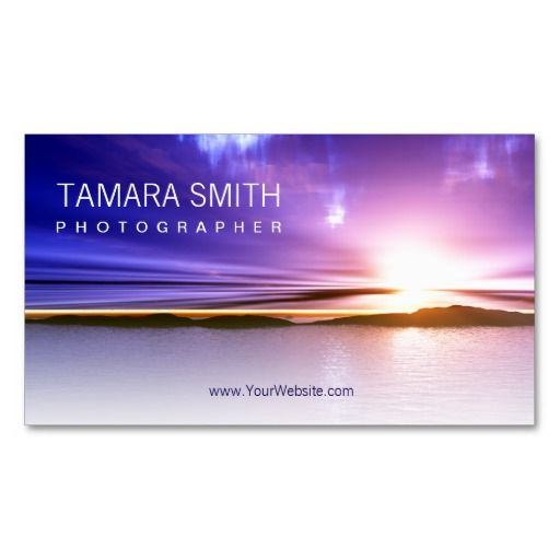 Photographer Business Card Template.