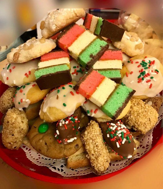 Cookie Platter Assorted Holiday Christmas Cookie Platters