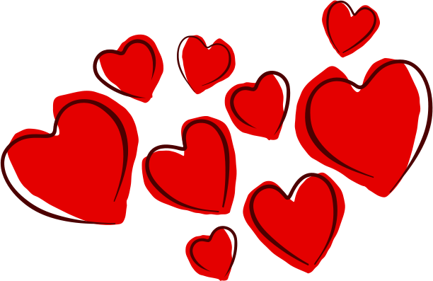 Sketchy Hearts Aqua Red Pinterest Valentines Love And Heart