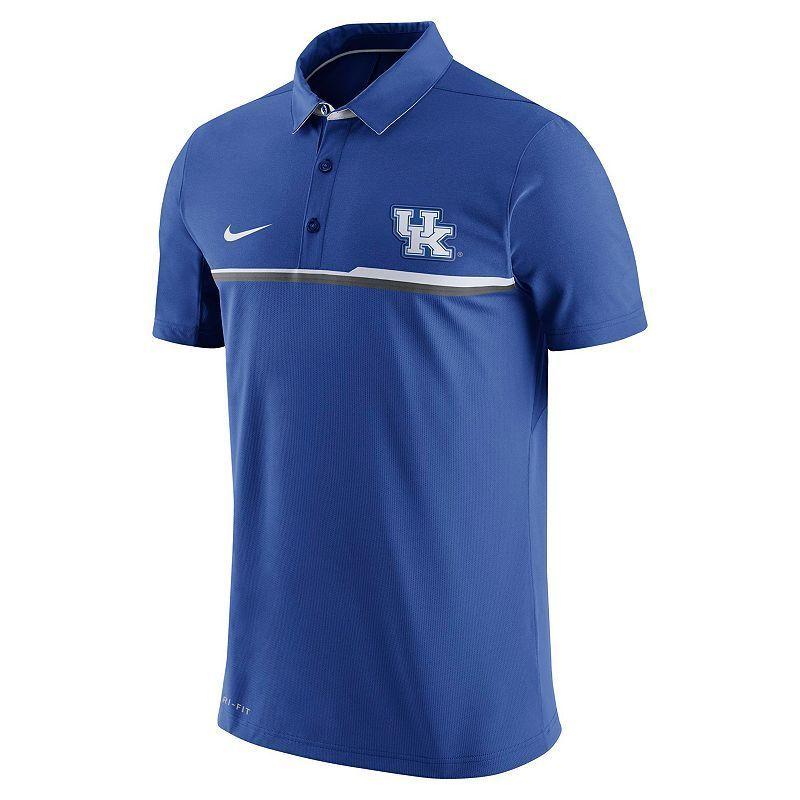 Men's Nike Kentucky Wildcats Elite Coaches Dri-FIT Performance Polo, Size: Medium, Ovrfl Oth