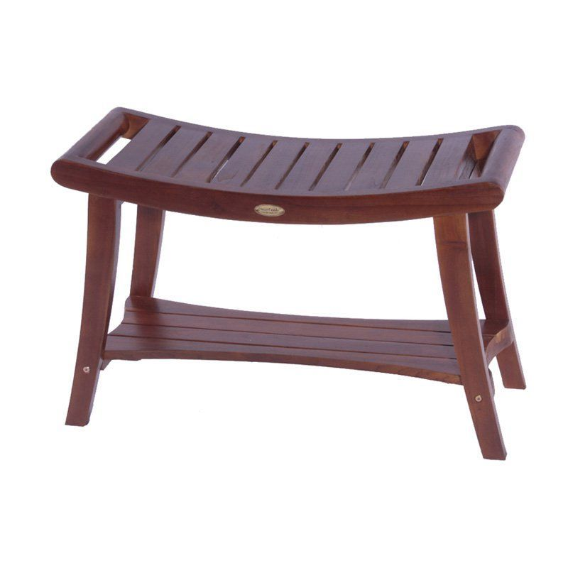 Have To Have It Decoteak Harmony Trade 30 In Teak Asia Shower Bench With Shelf And Lift Aide Arms 275 Hayneed Teak Shower Teak Shower Bench Shower Bench