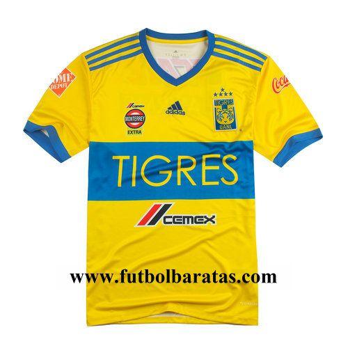 20,00€ · Tailandia camiseta del Tigres 2018 Primera Equipacion · camiseta  futbol baratas