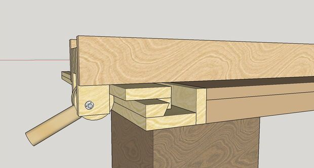 Homemade Table Saw Fence System Power Saw Table Saw Table Saw