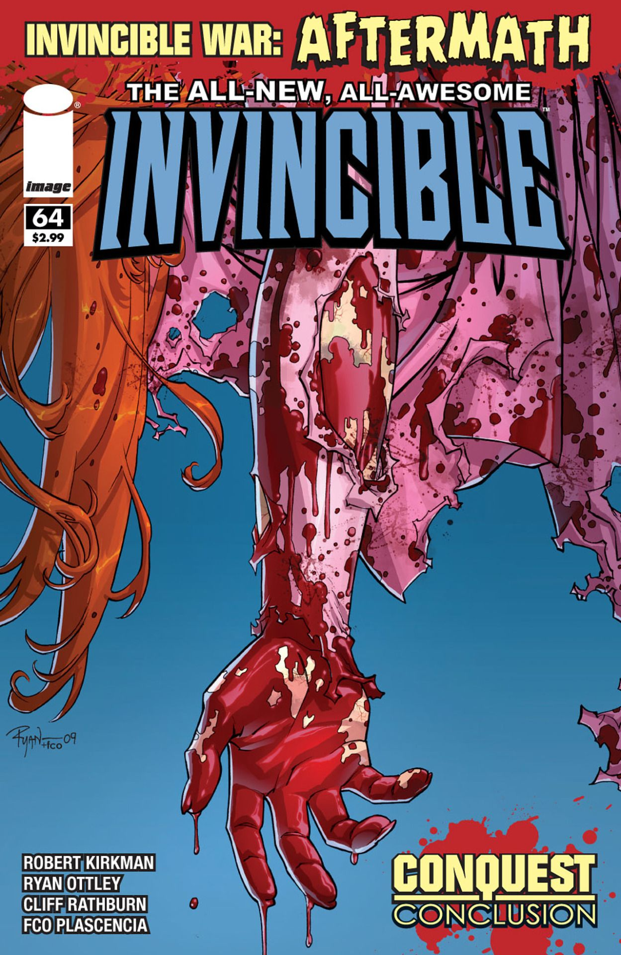 Invincible #64 by Ryan Ottley