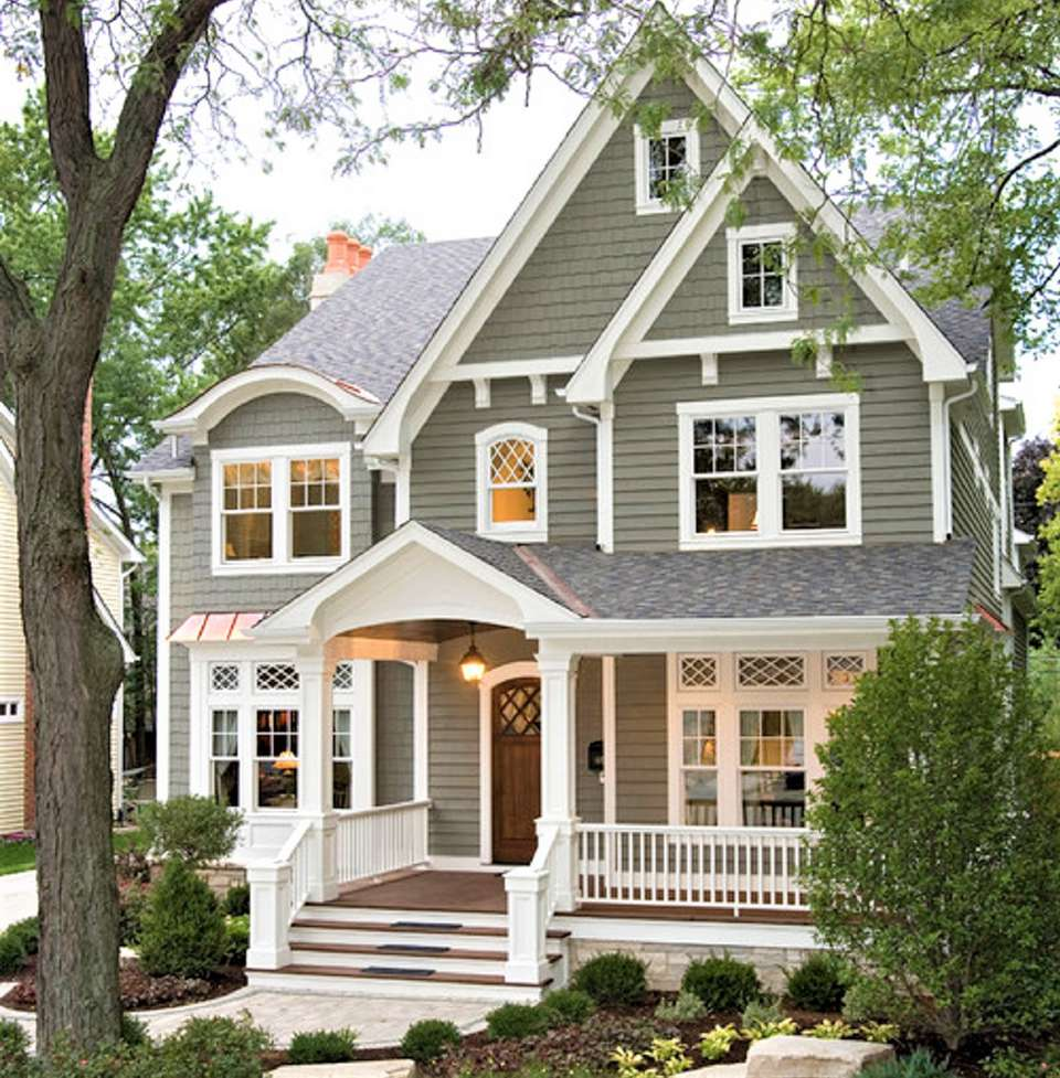 10 Inspiring Exterior House Paint Color Ideas Greyexteriorhousecolors 10 Inspiring Ex In 2020 Exterior Paint Colors For House House Paint Exterior Gray House Exterior