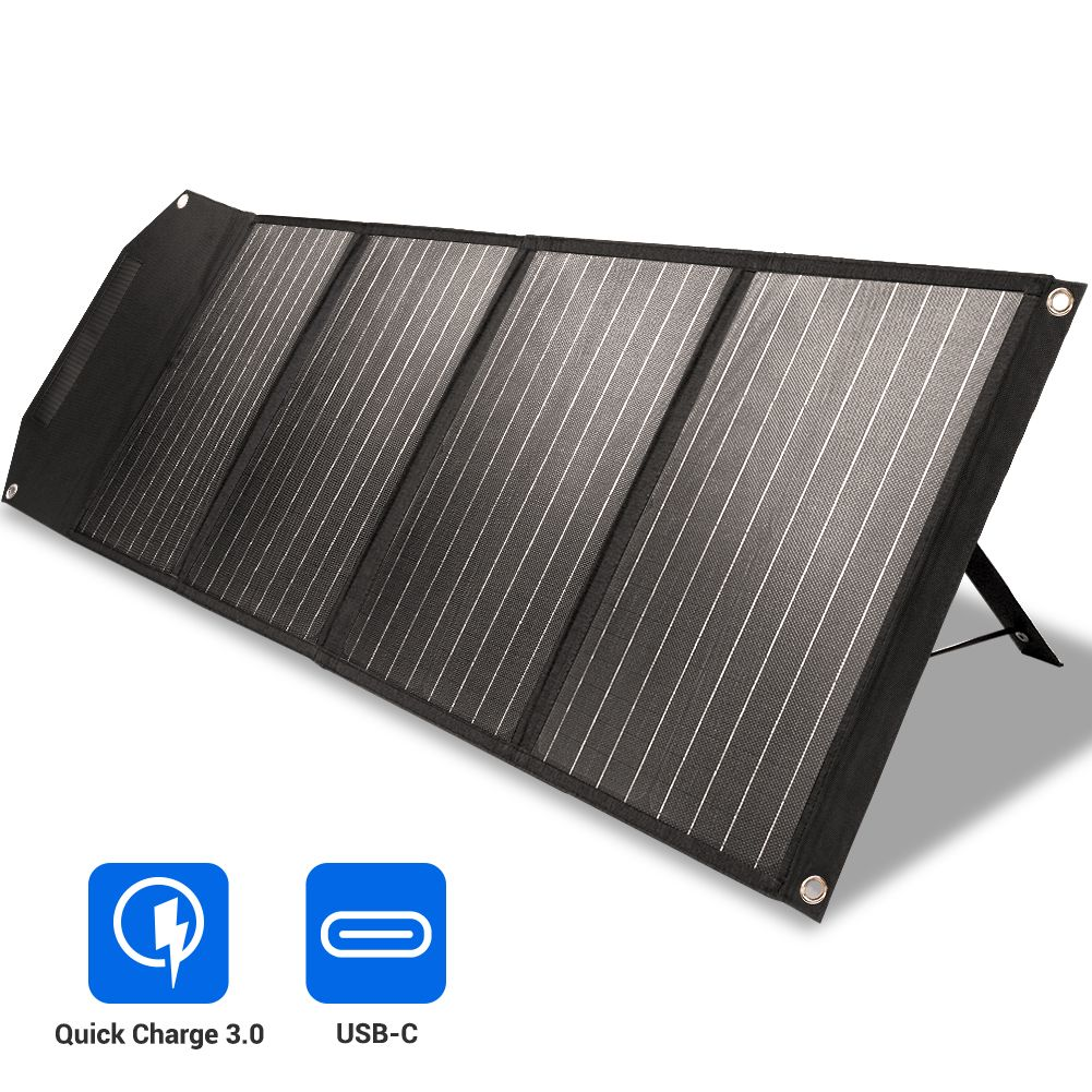 Difference Between Rockpals 100w Solar Panel 01 And 02 Version In 2020 Solar Panel Charger Solar Panels Solar