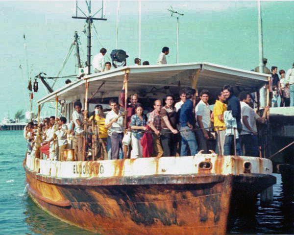 Florida Memory The El Dorado Arriving With Cuban Refugees During The Mariel Boatlift Key West Florida Key West Florida Cuba