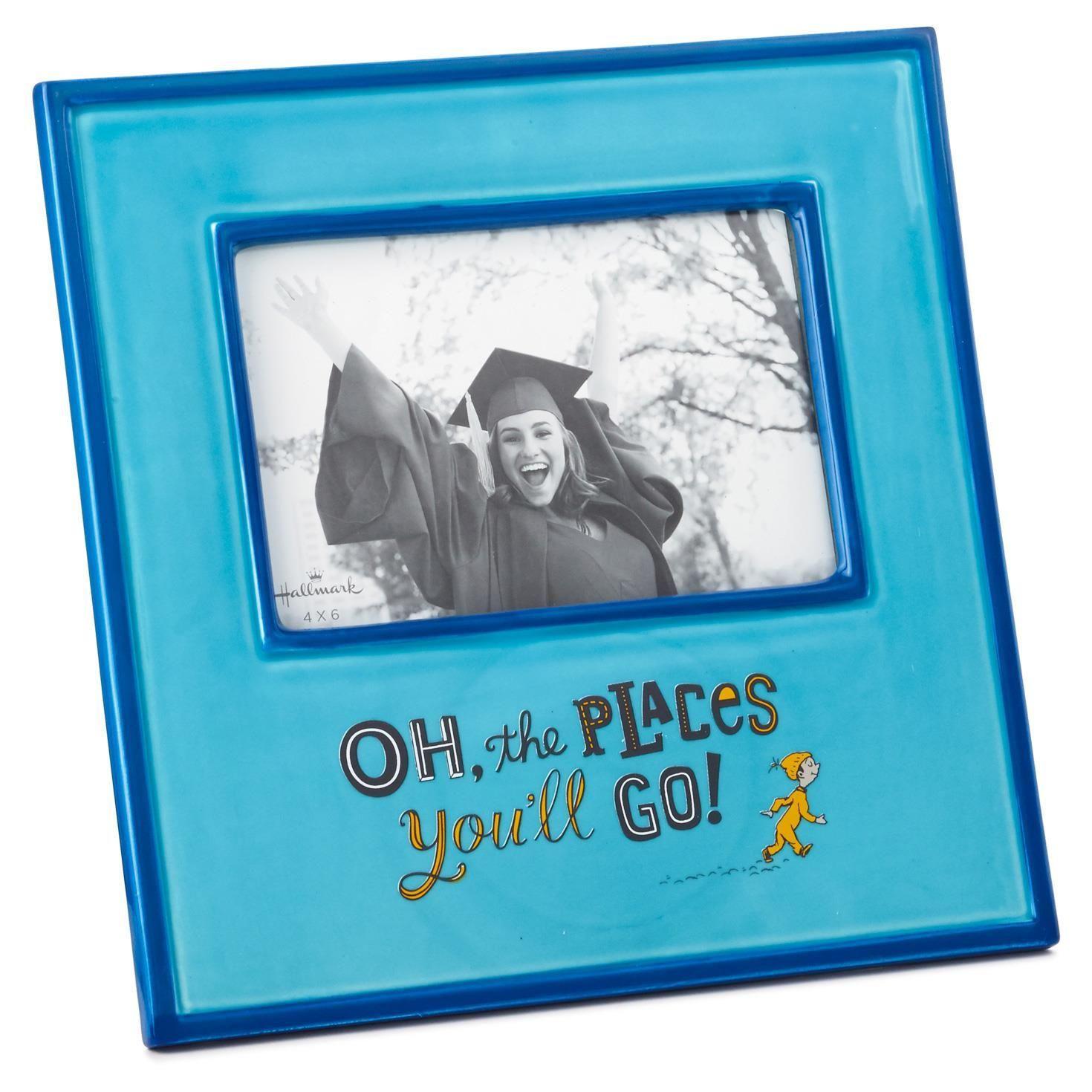 Dr. Seuss Oh, the Places You\'ll Go Graduation Picture Frame, 4x6 ...