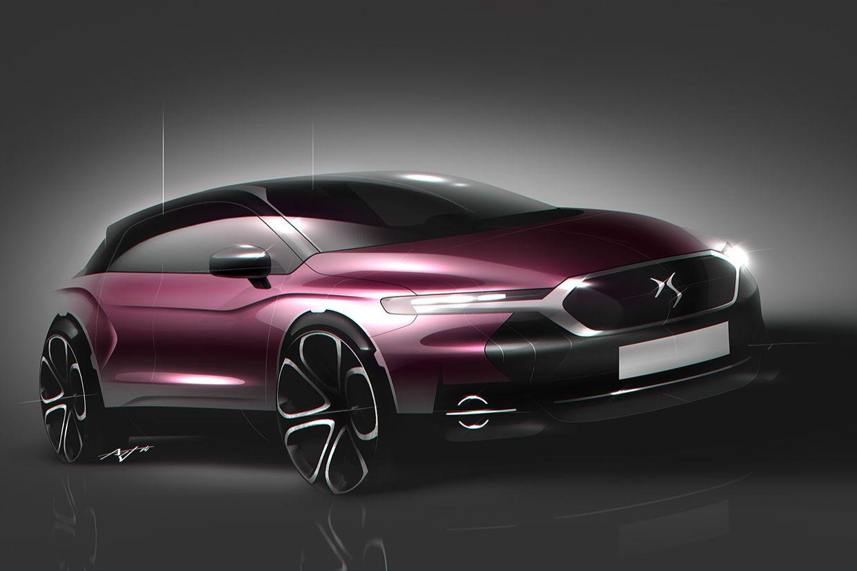 Citroen DS - NO2 on Behance | : car sketch | Pinterest | Auto skizze ...