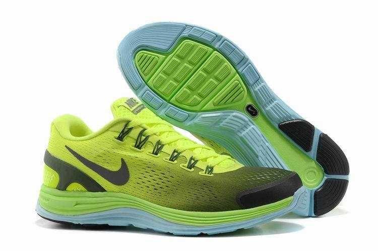 best service e2d95 a95bc 1479   Nike Lunarglide 4 Herr Volt Svart Grön SE600726ZZKeZdf