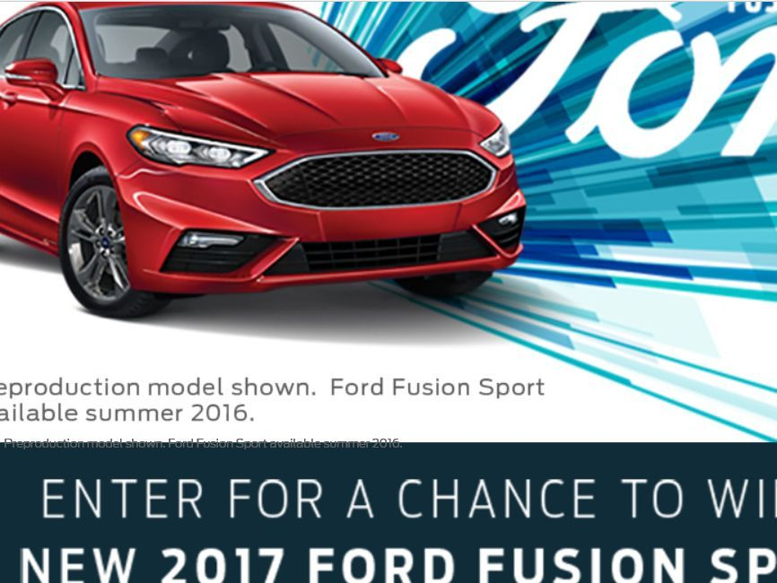 Http ford fusion giveaways