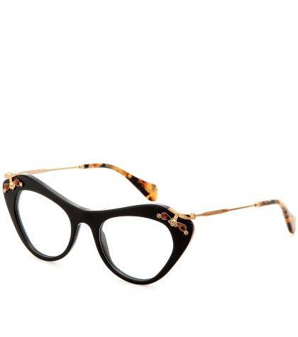 Miu Miu - Embellished optical glasses