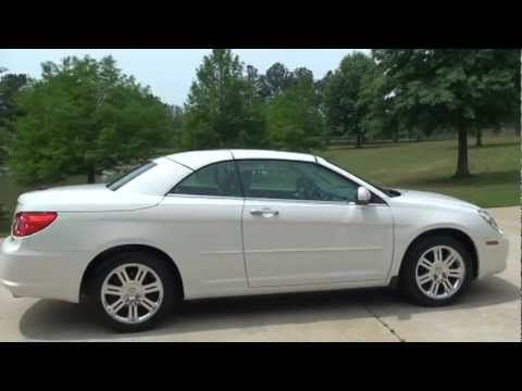 2008 Chrysler Seebring Hard Top Convertible Limited For Sale See