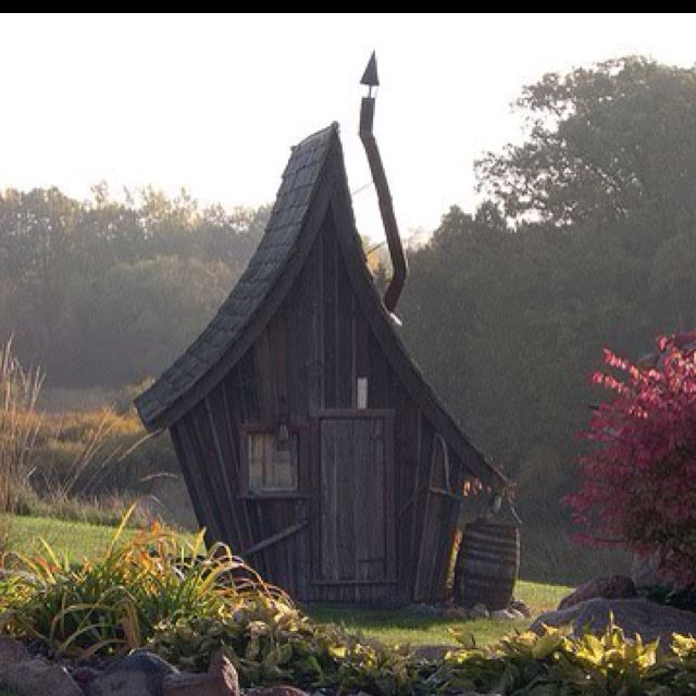 Rustic Way Whimsical House Crooked House Tree House