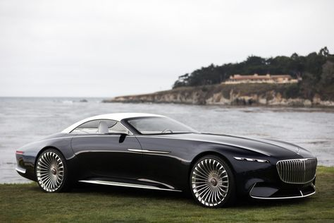 mercedes-maybach unveils an art deco-inspired yacht on wheels