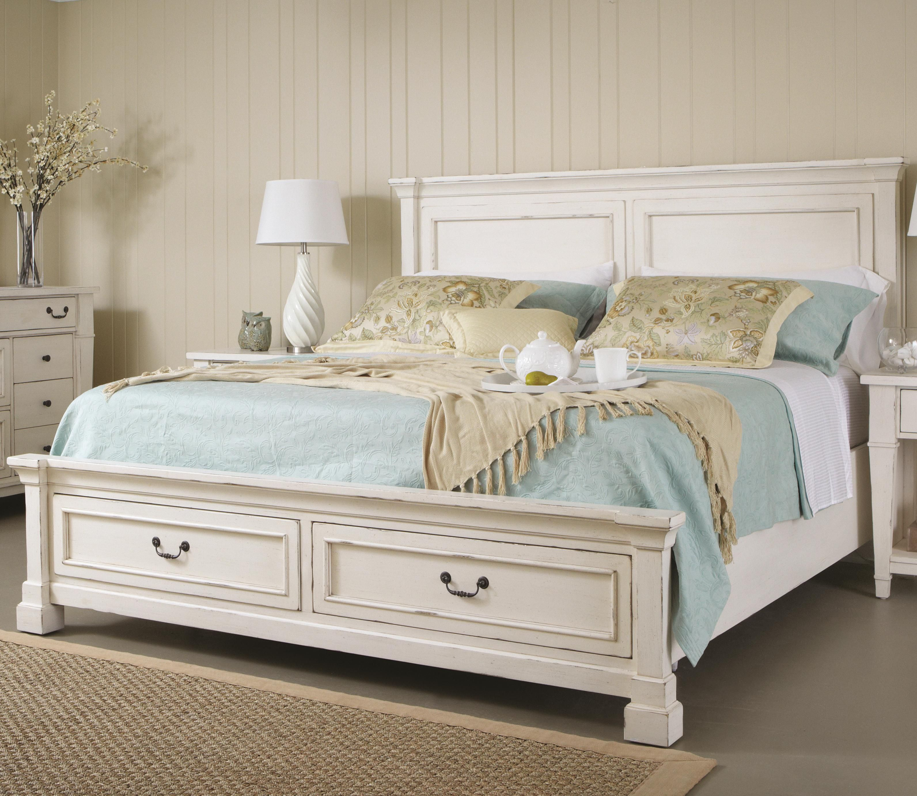 Best Springdale Queen Panel Bed With Storage Part Of The Stoney 400 x 300