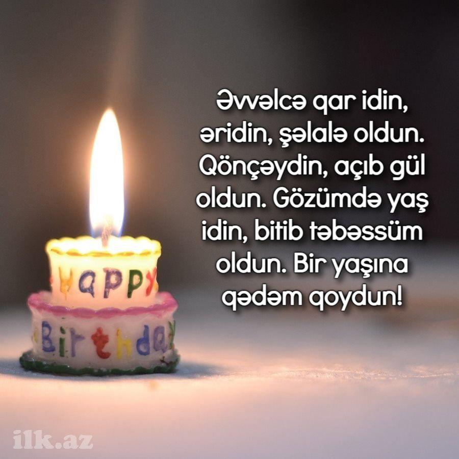 ən Gozəl 1 Yas Təbriki In 2021 Birthday Candles Birthday Candles