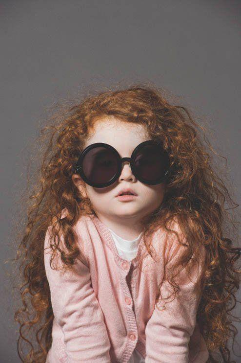 18050d97ee9b Cute Kids Front New Karen Walker Eyewear Advertising Campaign