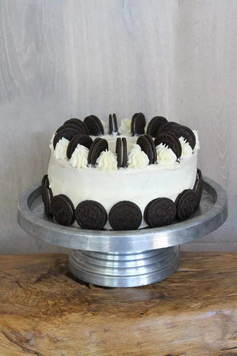 Cookies and Cream Cheesecake Cake - Recipe Girl