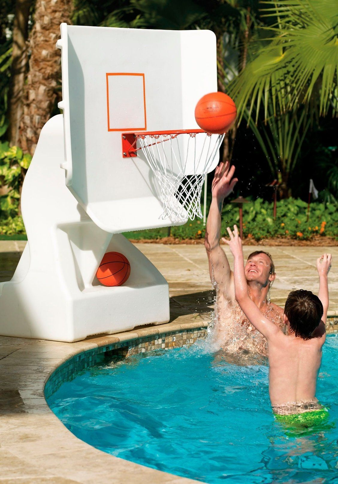 Pool Basketball Hoops In 2020 Swimming Pool Toys Cool Swimming