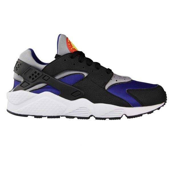 huge discount 262fb 6be0e Nike Air Huarache LE Deep Royal Black Wolf Grey ❤ liked on Polyvore  featuring sneakers and shoes
