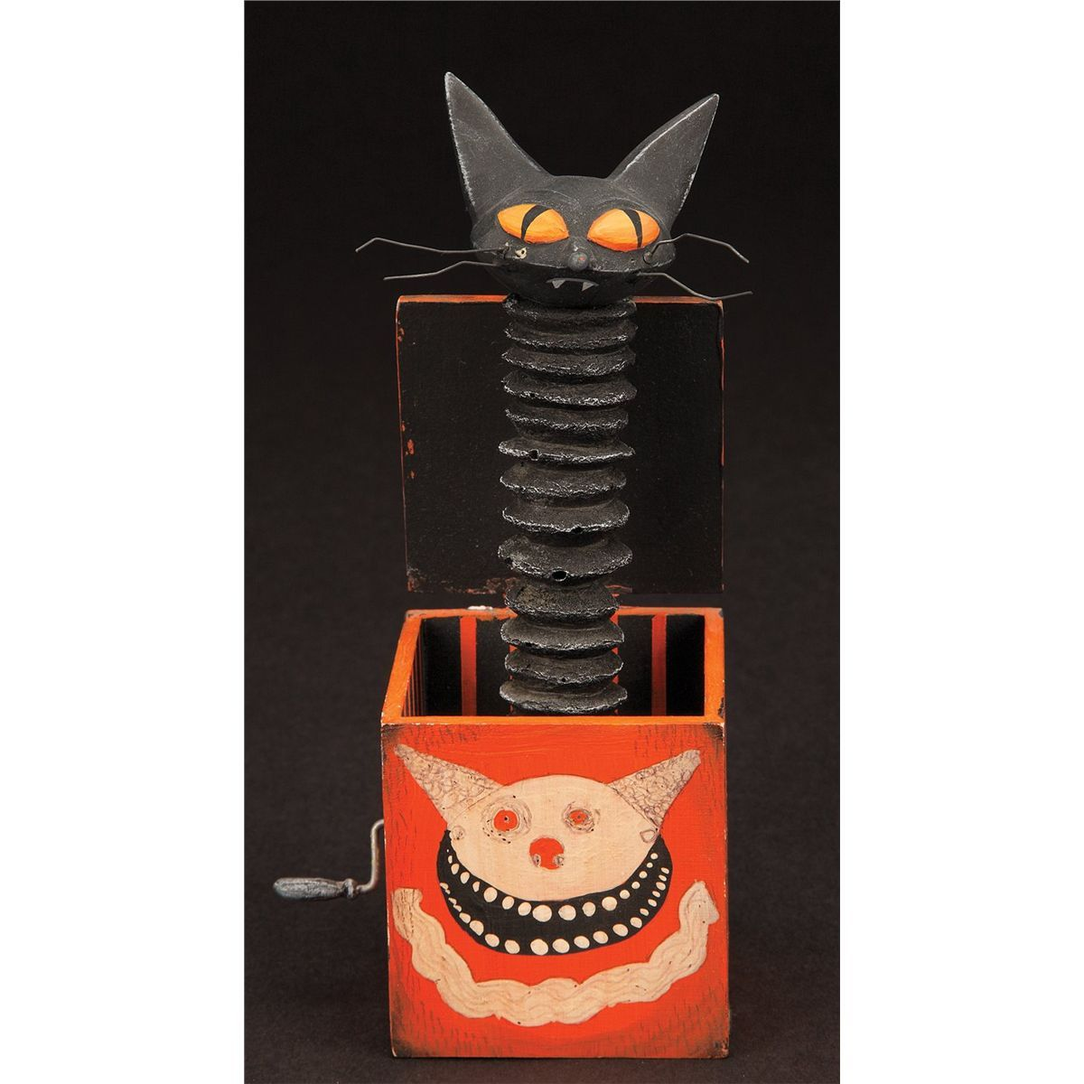 Cat in the box toy from The Nightmare Before Christmas Jack-in-the ...