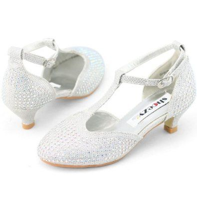 Pageant shoes for the flower girl
