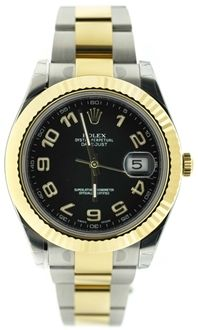 Rolex Datejust II 116333 Oyster Perpetual Steel & Gold