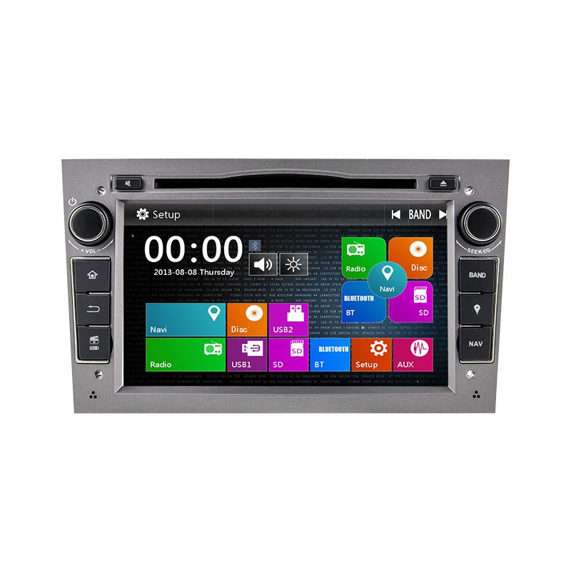 2 Din 7 Inch Car DVD Player For Vauxhall/Opel/Antara/VECTRA/ZAFIRA/Astra H G J Canbus FM GPS BT 1080P Ipod Map